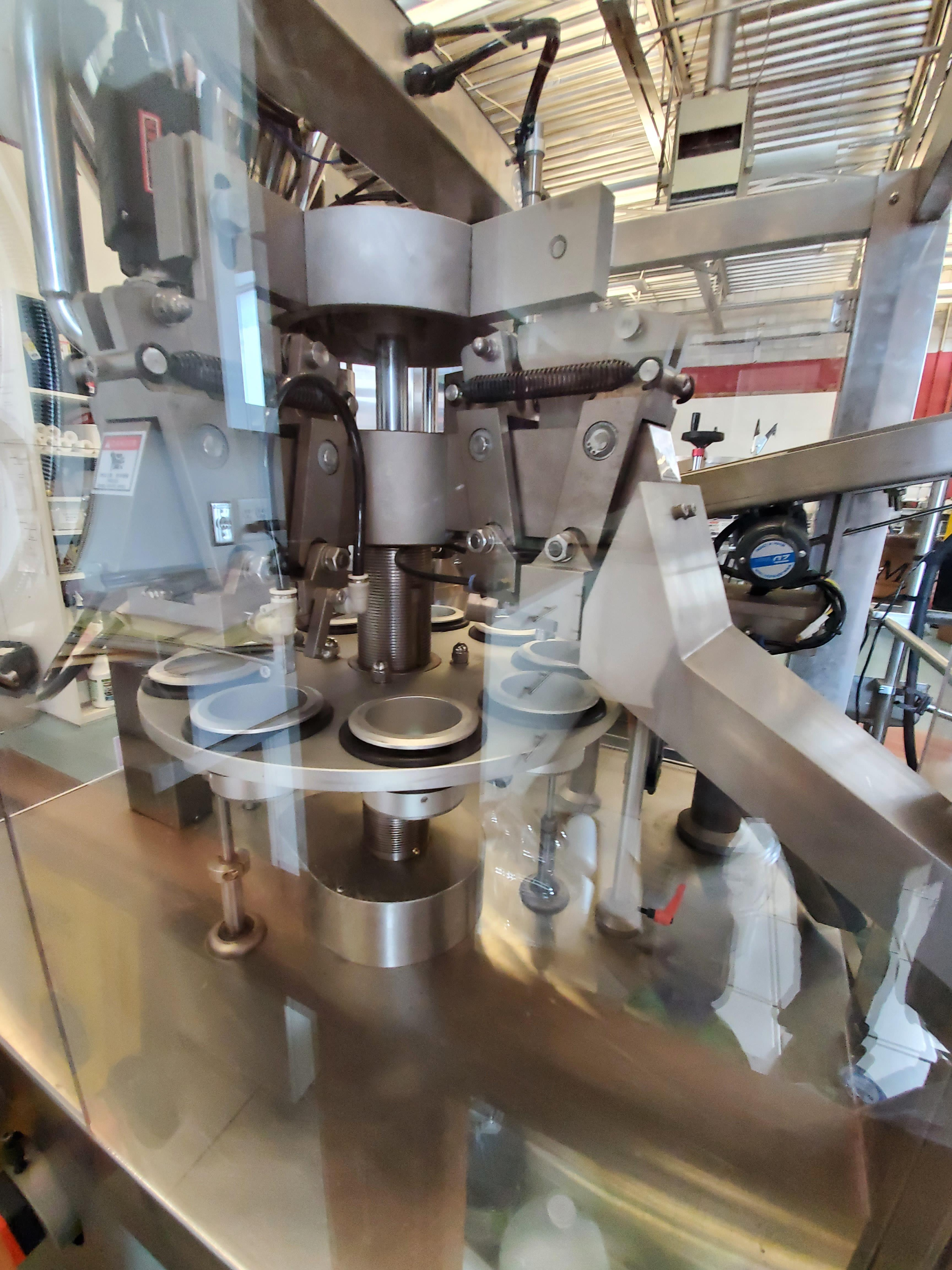 Chasing 8 Station Automatic Plastic Tube Filler w/ Hot Air Seal - Image 9 of 13