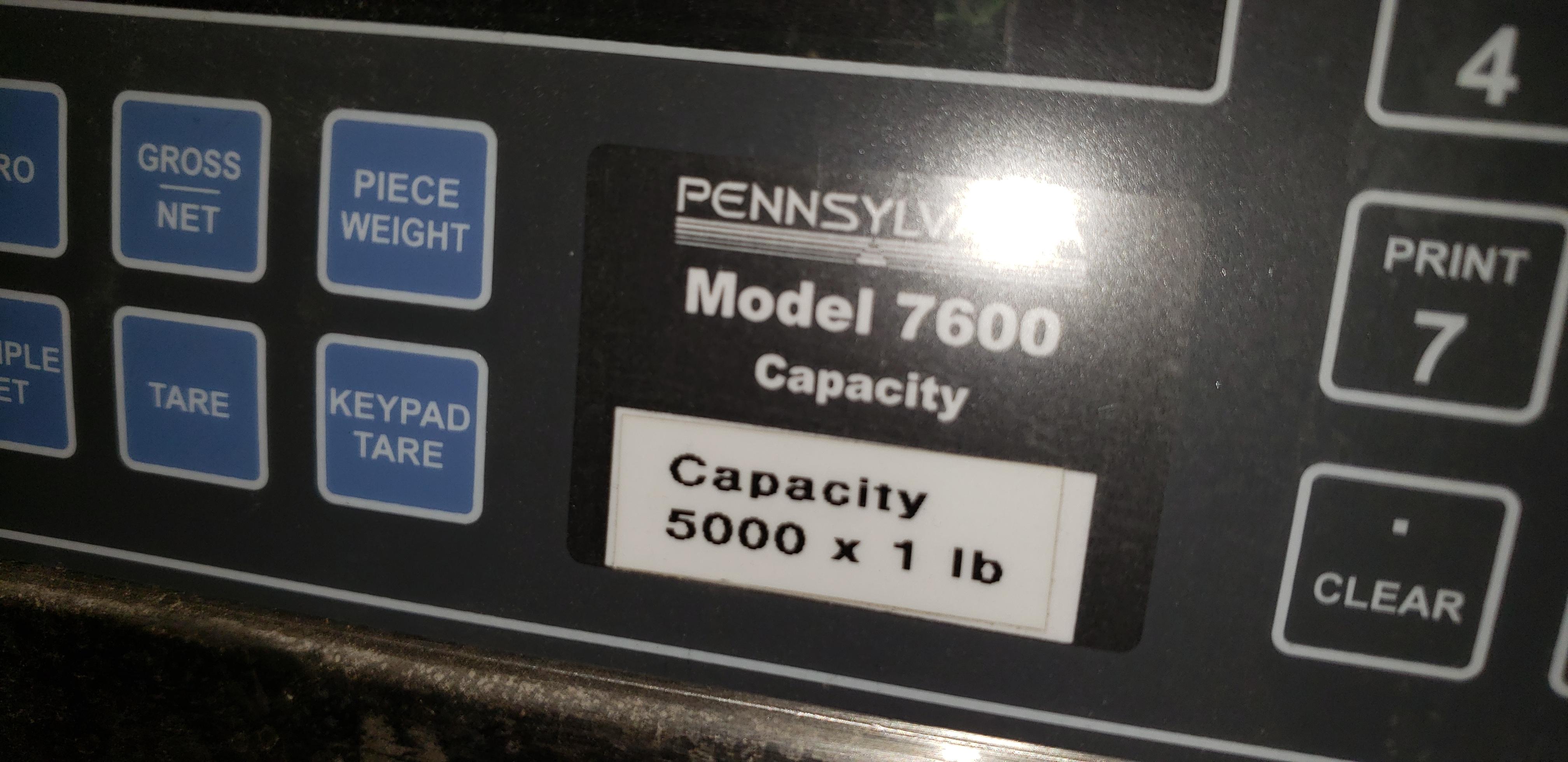 Pennsulvania 5000 Lb Capacity platform scale - Image 3 of 3