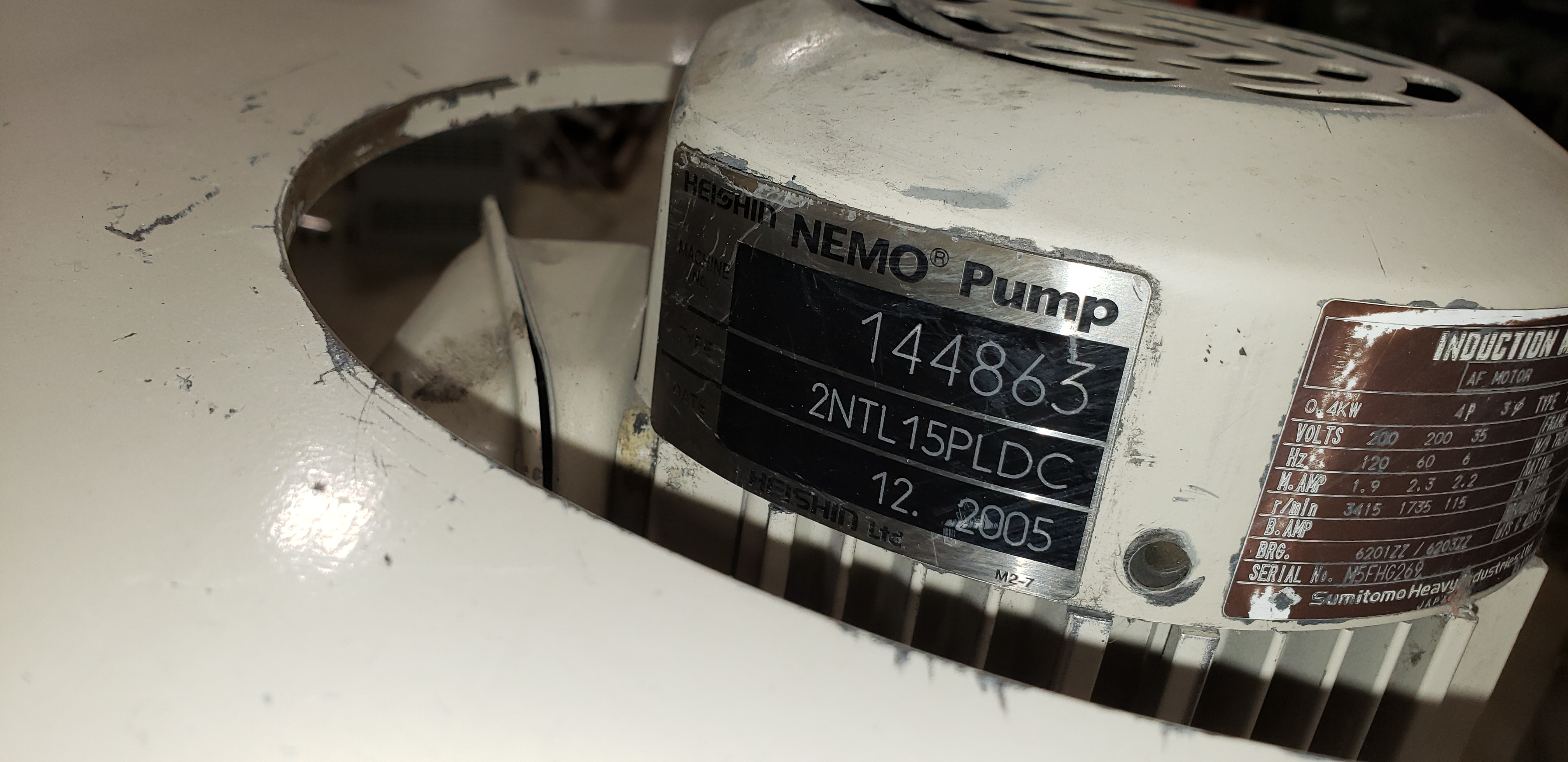 Double Pump Cart - 2 Identical HEISHIN NEMO pumps - Image 17 of 21