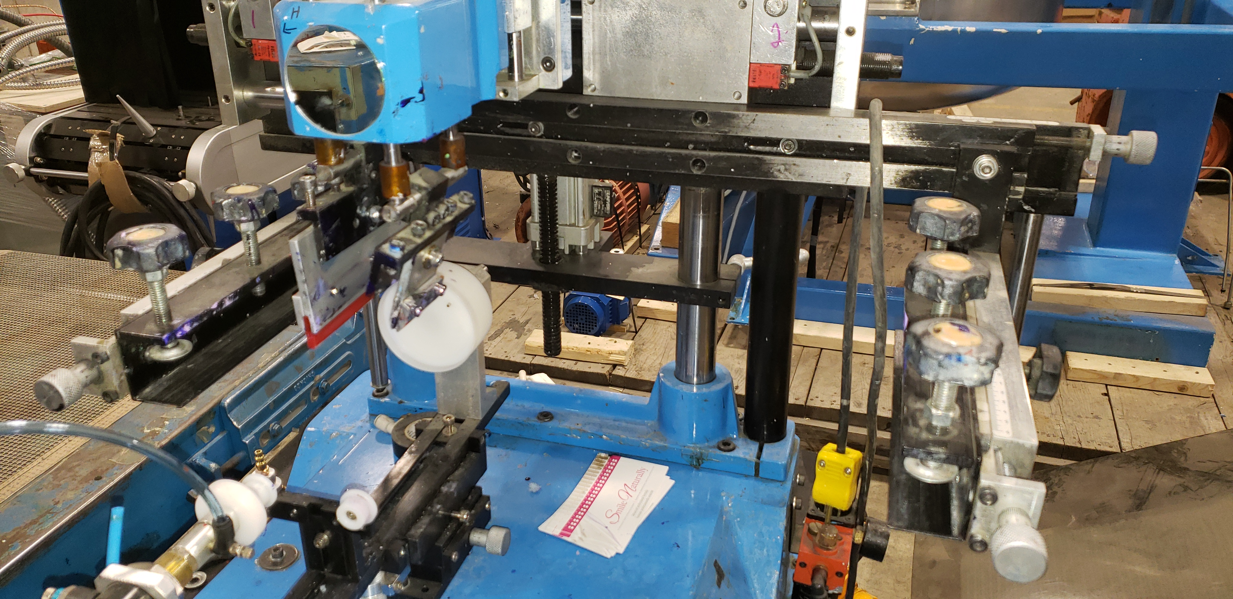 1 Color Bottle Screen Printing Machine - Image 7 of 9