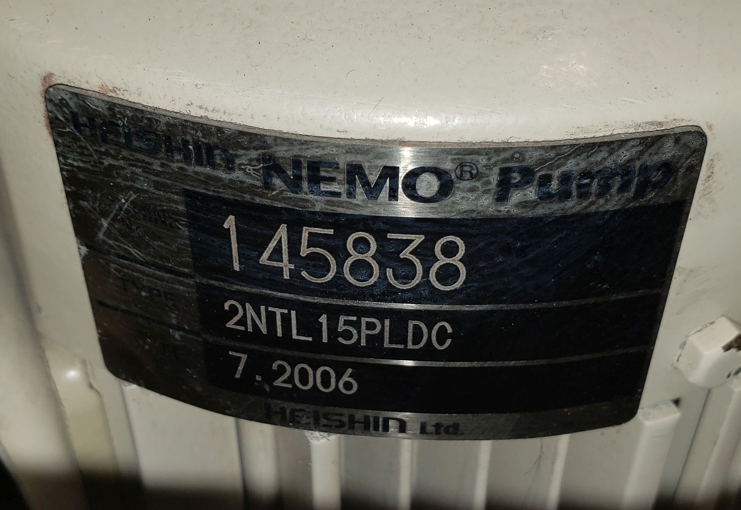 Double Pump Cart - 2 Identical HEISHIN NEMO pumps - Image 7 of 21