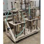 Double Pump Cart - 2 Identical HEISHIN NEMO pumps
