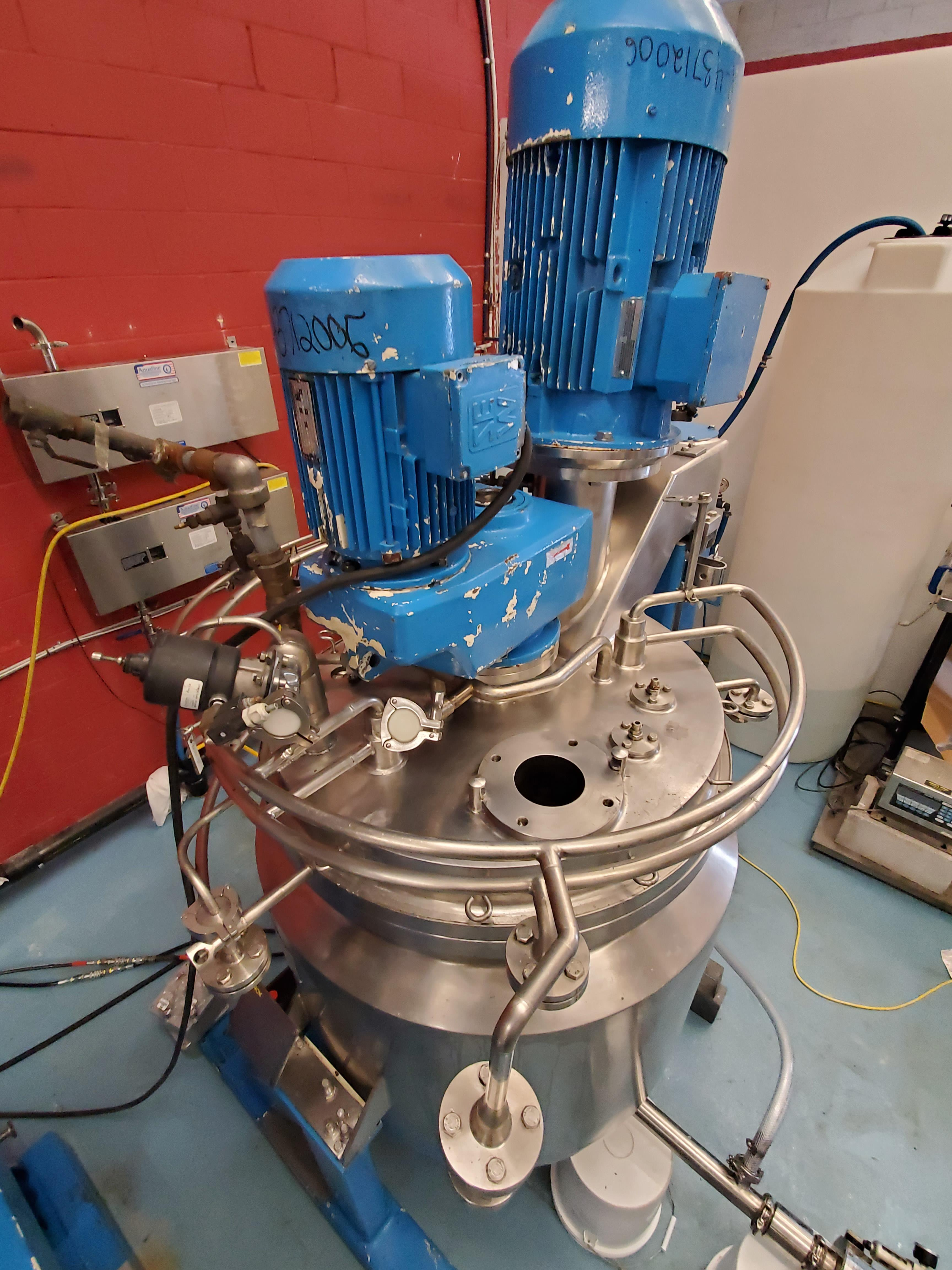 Fryma Vacumix Twin Motion Vacuum Mixer model DT-300 - Image 10 of 19