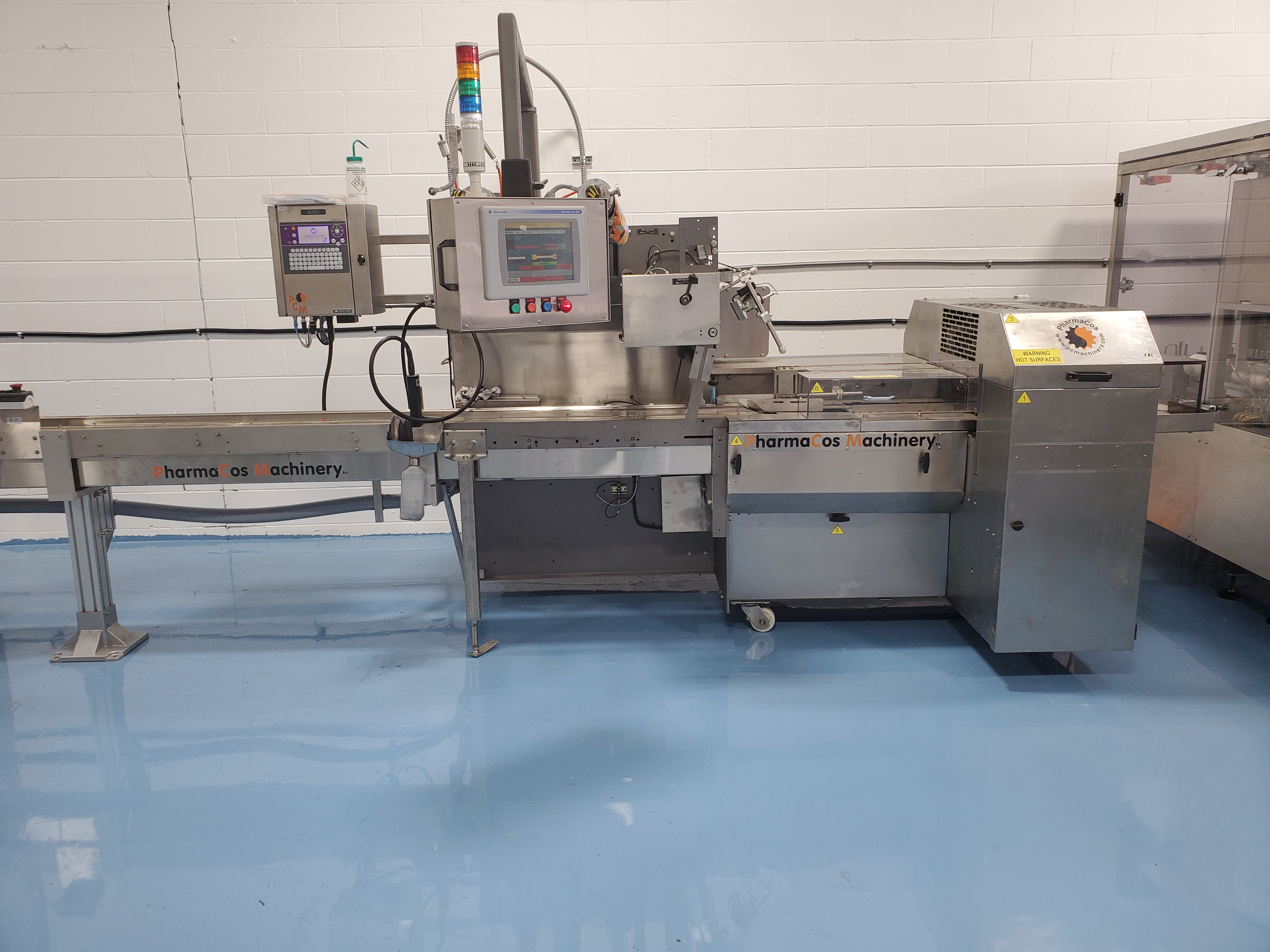 ESS TECHNOLOGIES MB60XP EXPLOSION PROOF MONOBLOCK FILLING & SEALING SYSTEM - Image 11 of 11