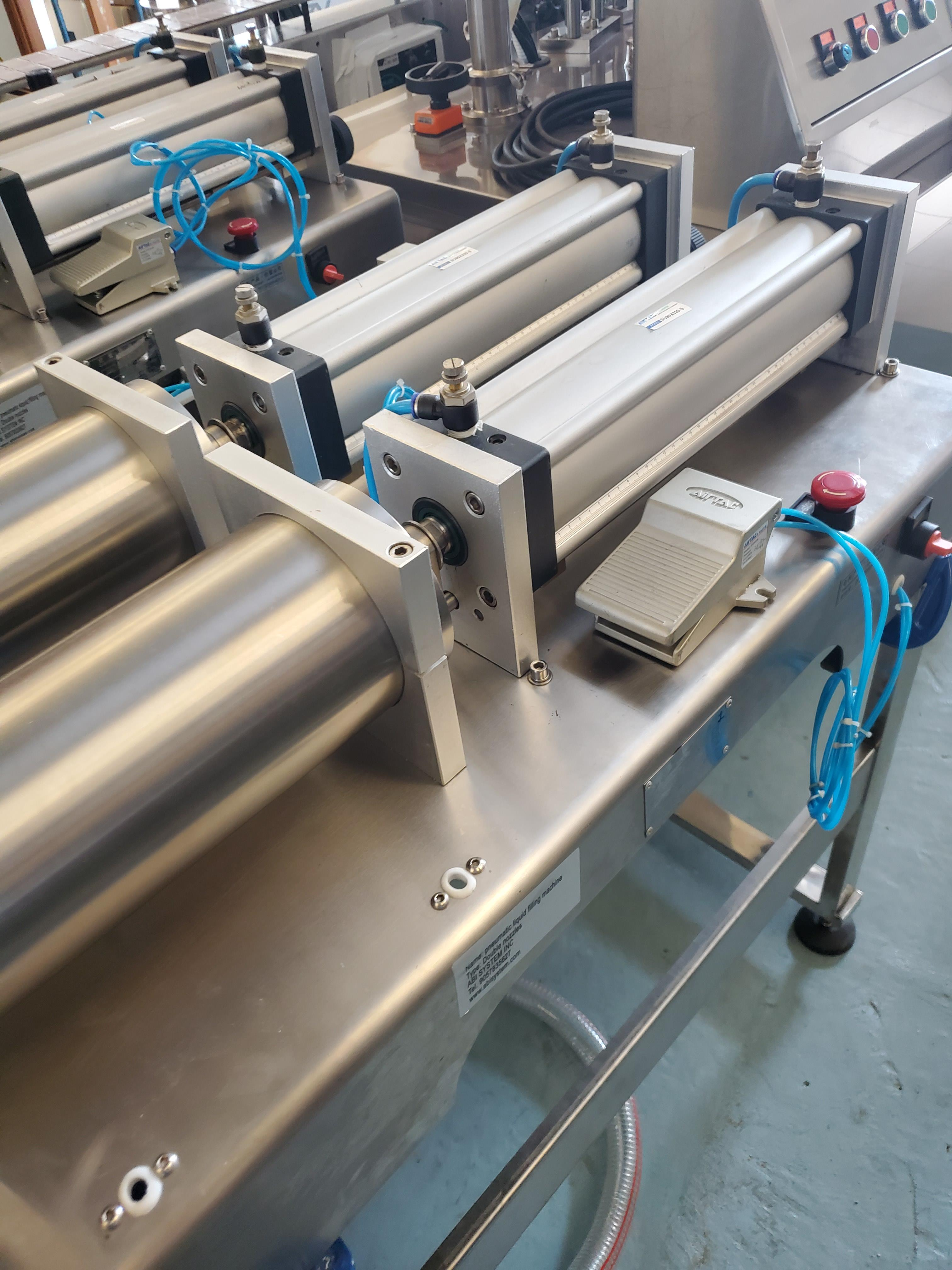 Double Piston Liquid Filler - All Stainless Steel Construction - Image 3 of 4
