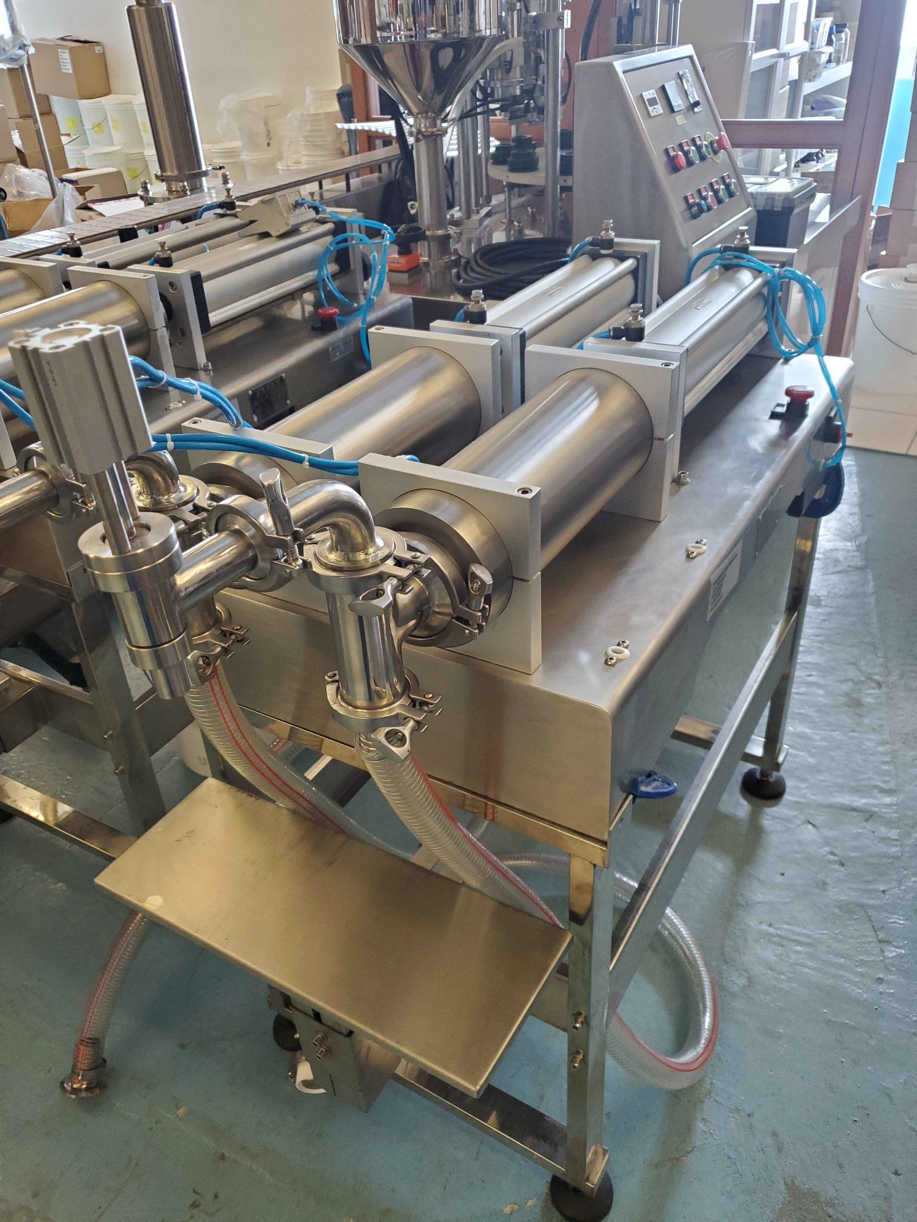 Double Piston Liquid Filler - All Stainless Steel Construction - Image 4 of 4