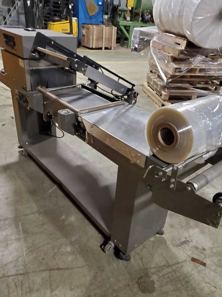 Clamco Semi-Automatic L-Bar Sealer with Shrink TunnelModel 110-20 - Image 2 of 4