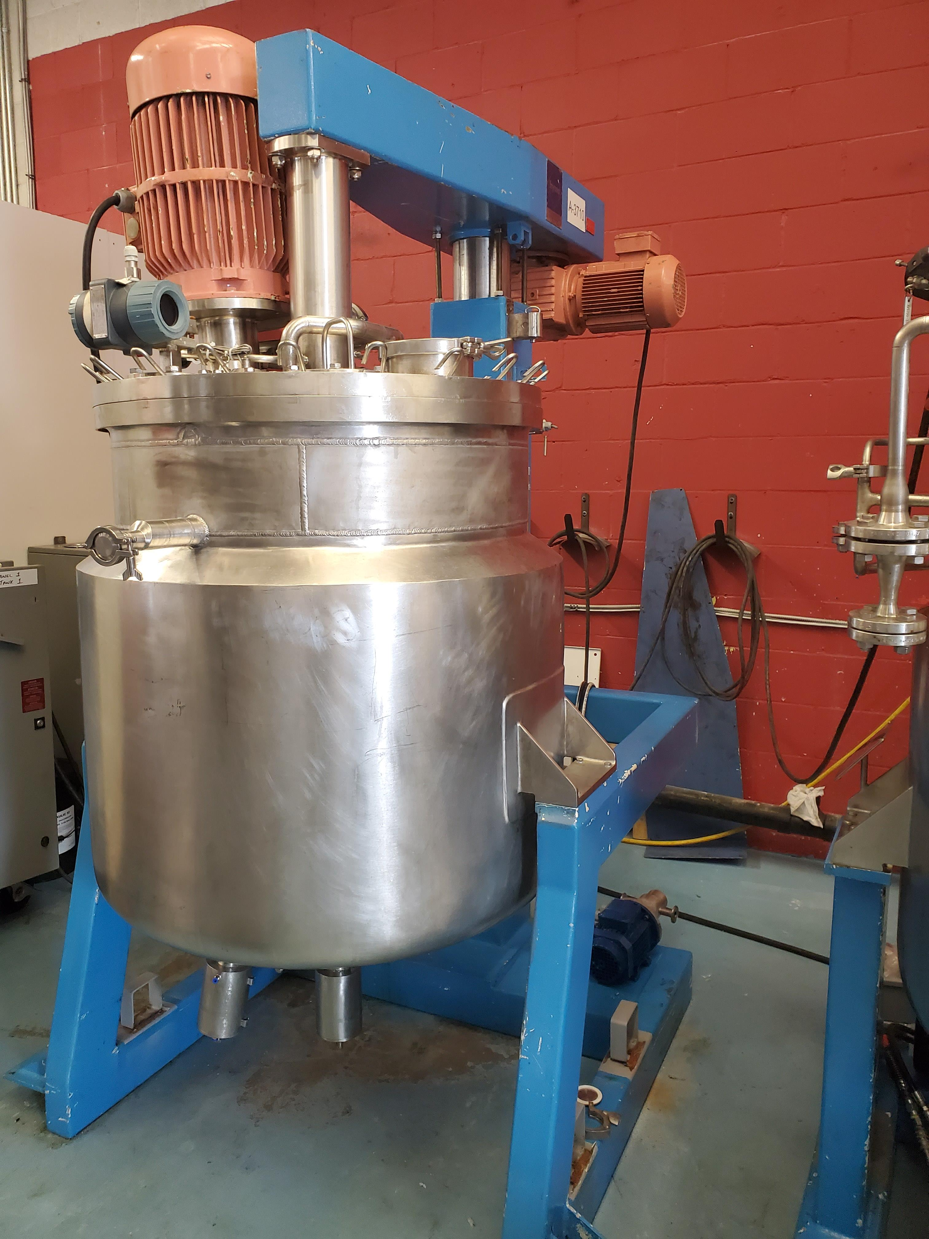 Fryma Homogenizing Vacuum Mixer - Stainless Steel Construction - Model VME250