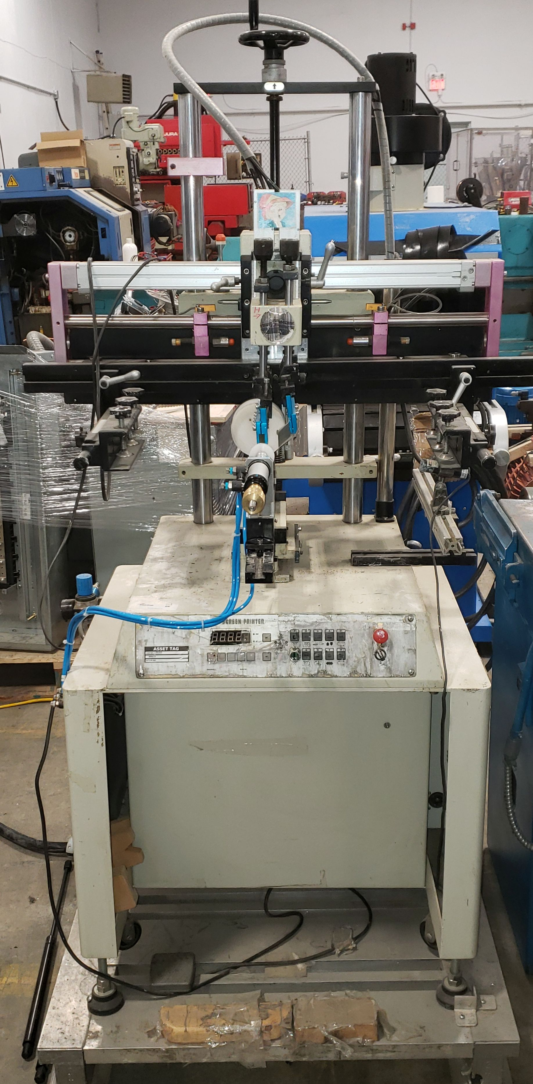 Silk Screen Printer for Bottles