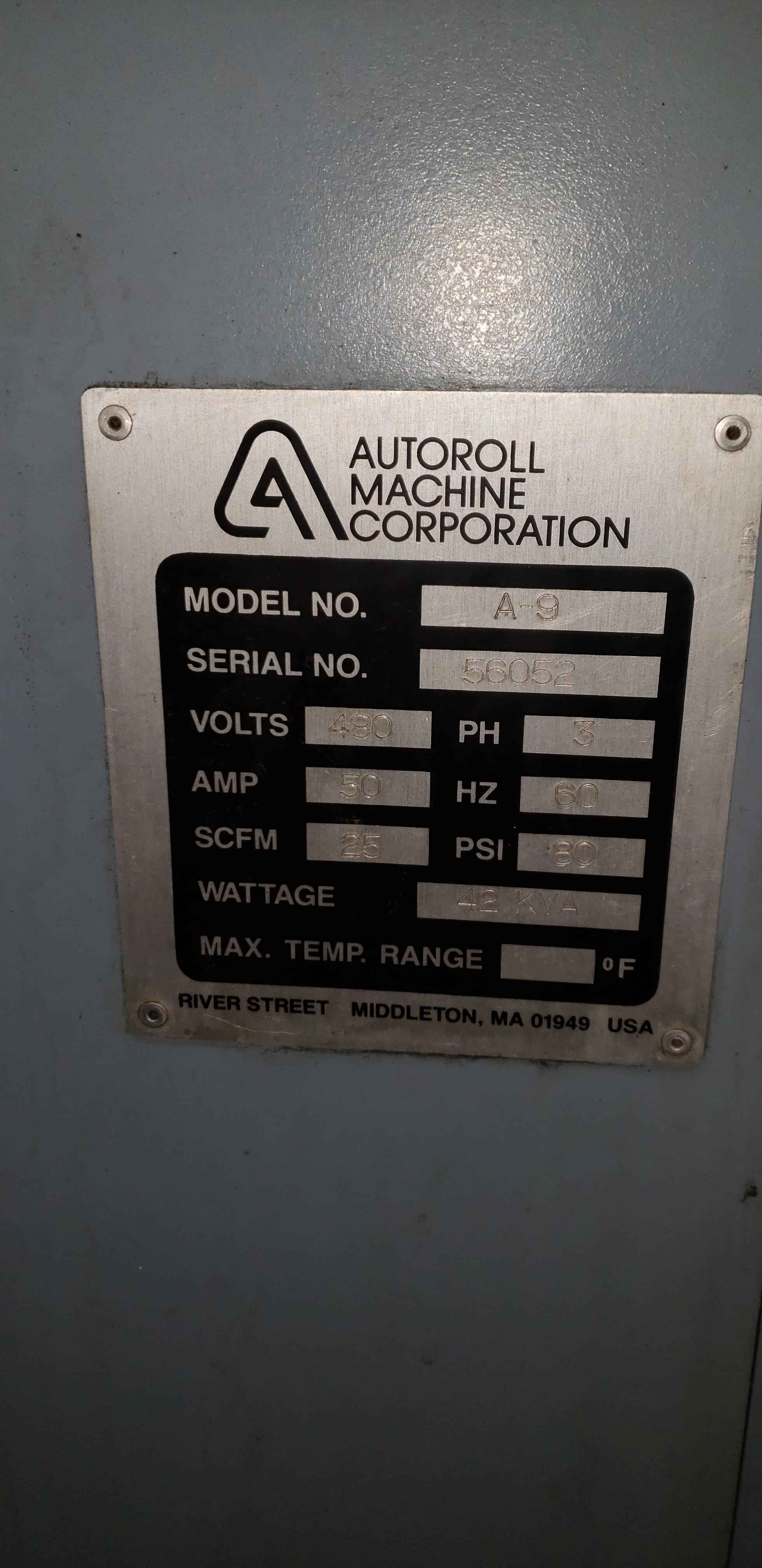 AutoRoll Model A9 /1- Color, Automatic, UV, Bottle Printer - Image 23 of 25