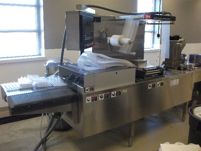 Mafaffy Horizontal Tray Former/Blister Sealer/Form Fill Seal Machine - Image 6 of 18