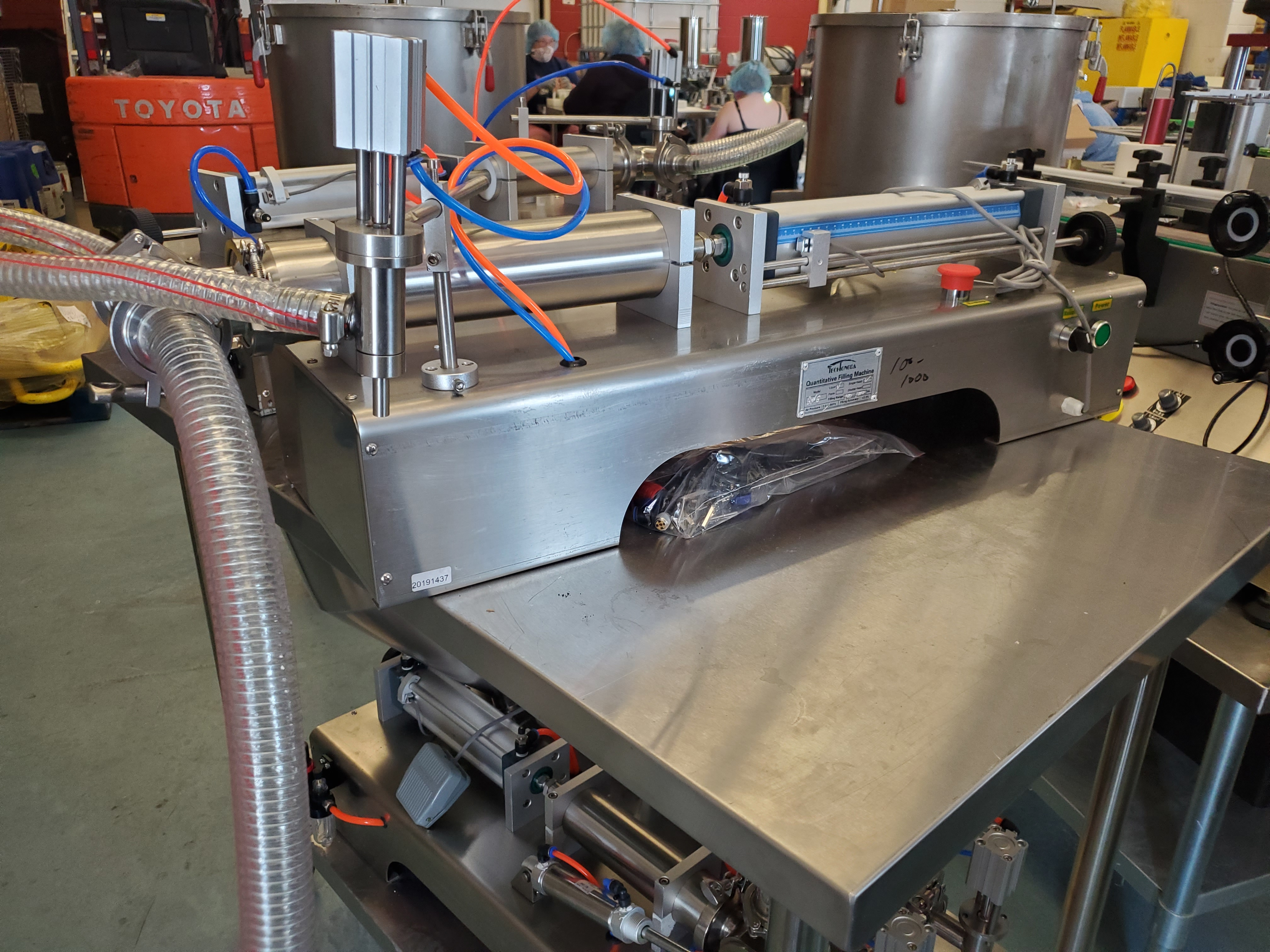 Stainless Steel Horizontal Piston Filler - Table Top Model - Image 2 of 3