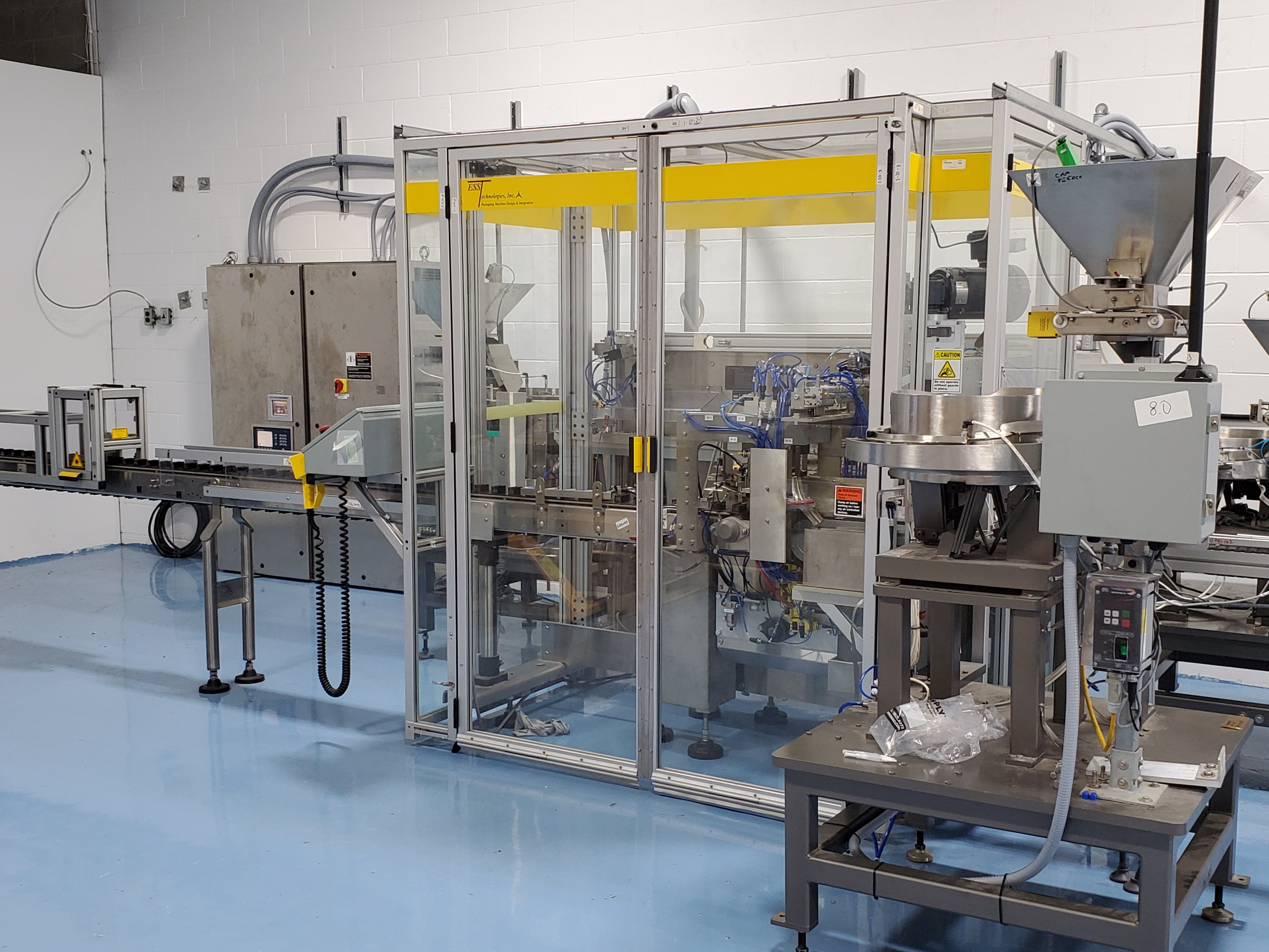 ESS TECHNOLOGIES MB60XP EXPLOSION PROOF MONOBLOCK FILLING & SEALING SYSTEM - Image 7 of 11