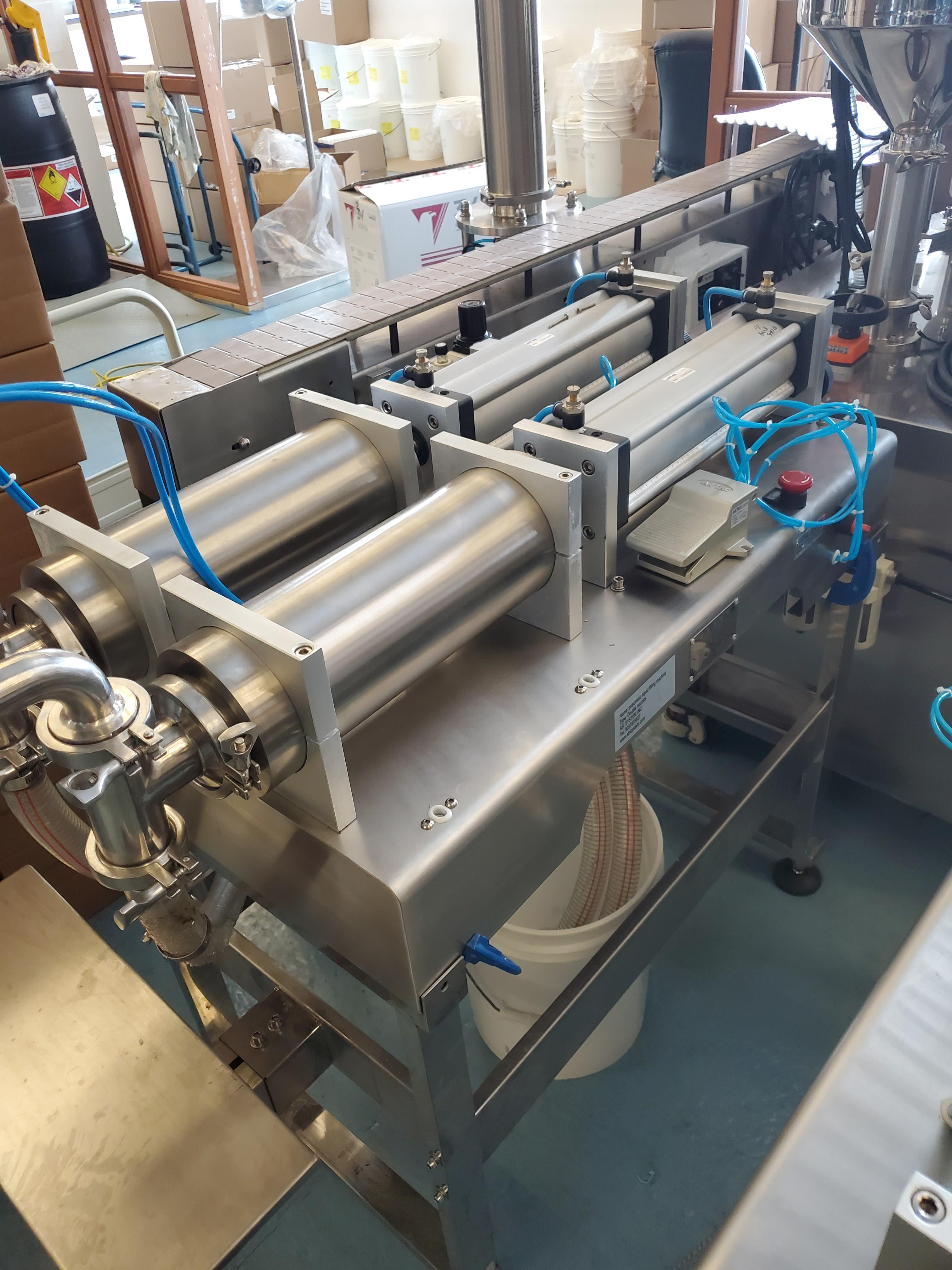 Dual Nozzle Stainless Steel Piston Filler - Image 2 of 4