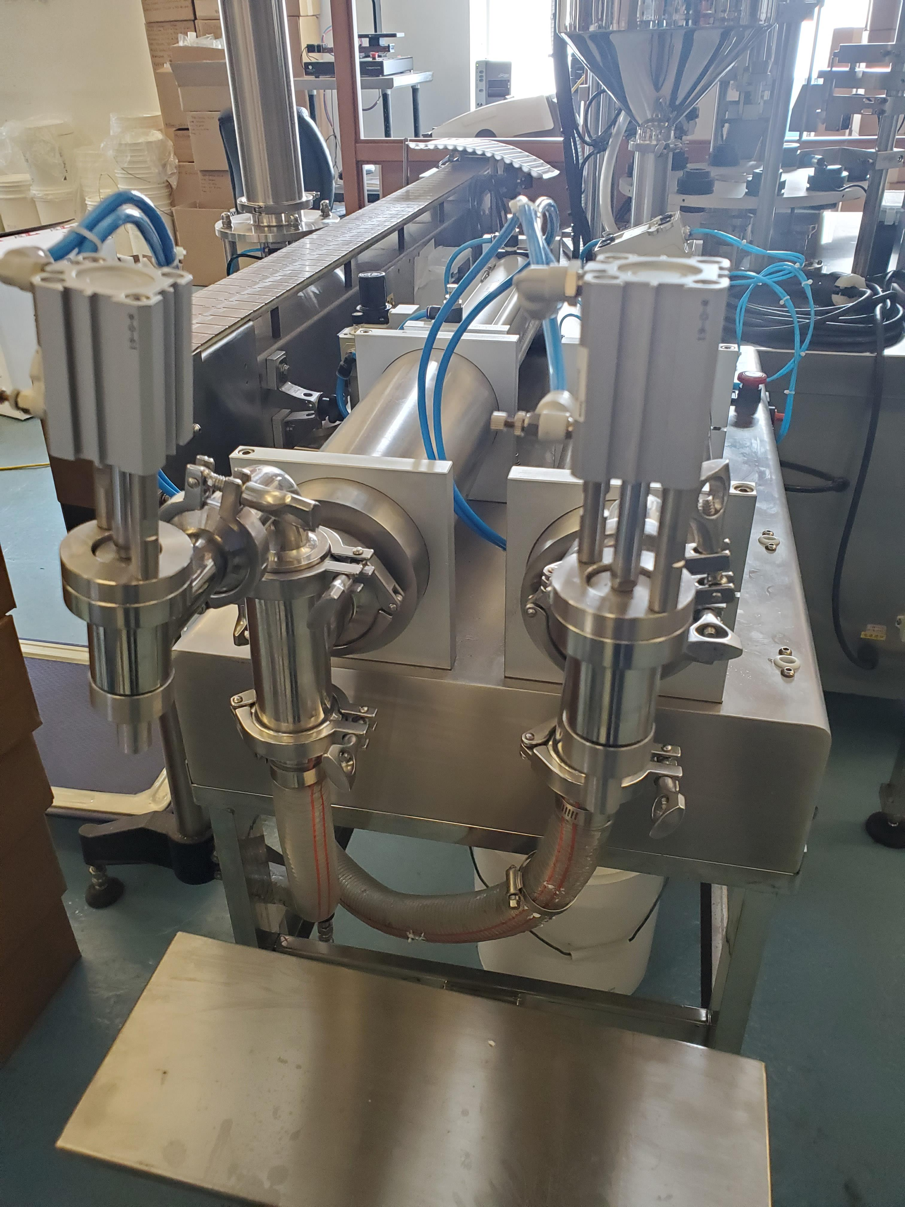 Dual Nozzle Stainless Steel Piston Filler - Image 3 of 4