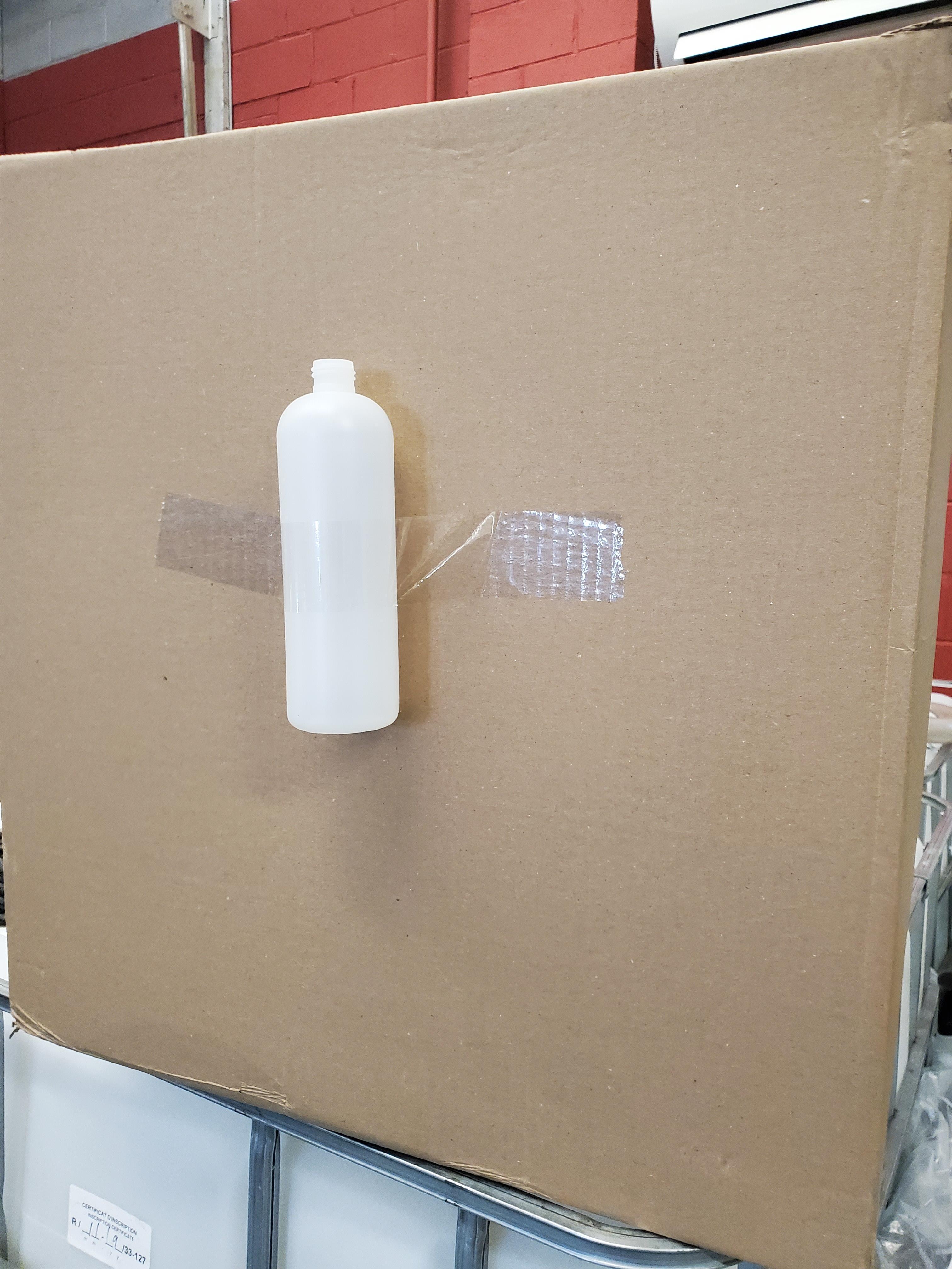 25,000 HDPE Bottles, NATURAL, NEW, 24/410 Neck, 16oz Boston Round