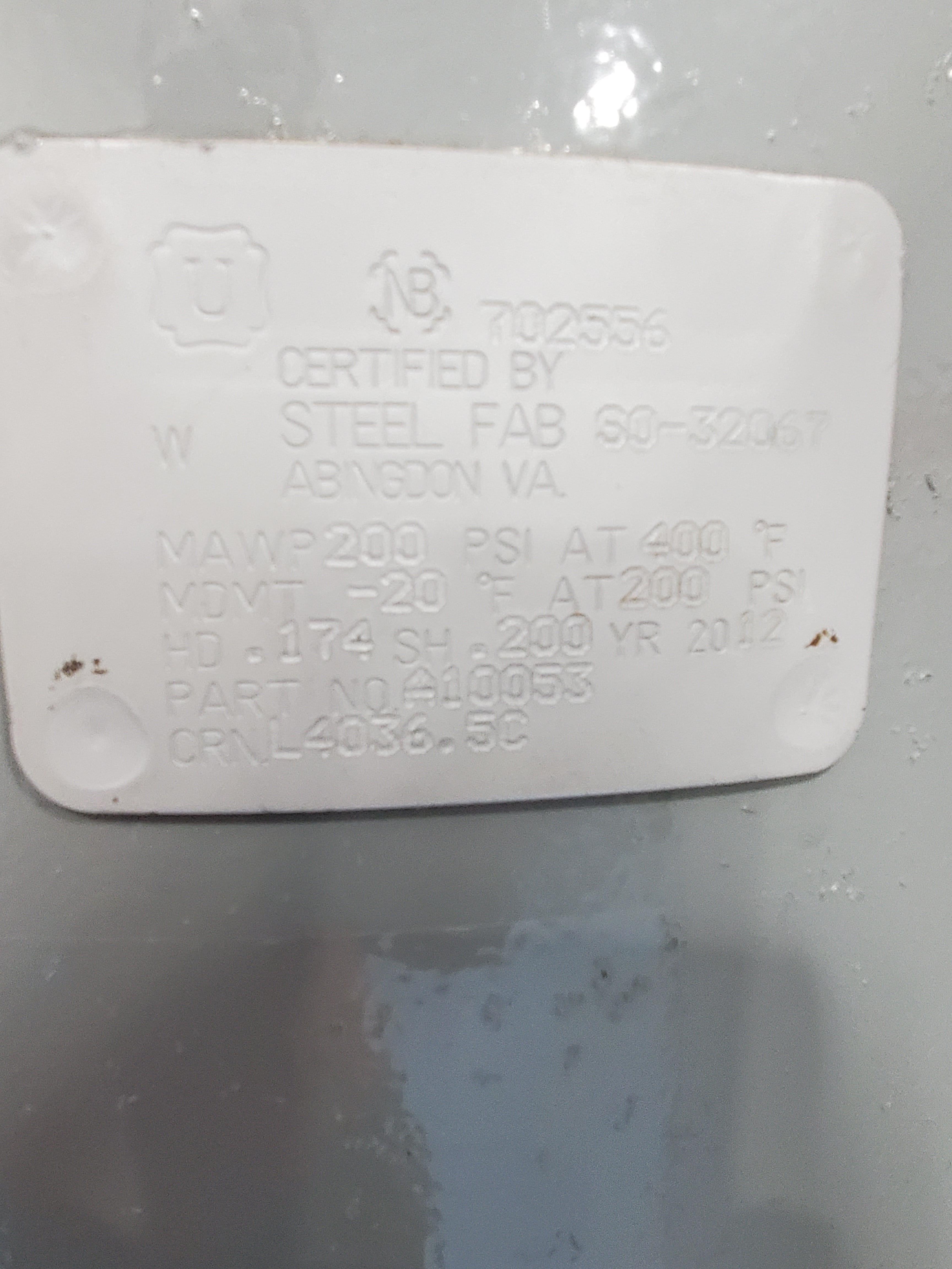 40 HP Gardner Denver CHAMPION Rotor Champ Air Compressor /w Dryer - Image 7 of 8