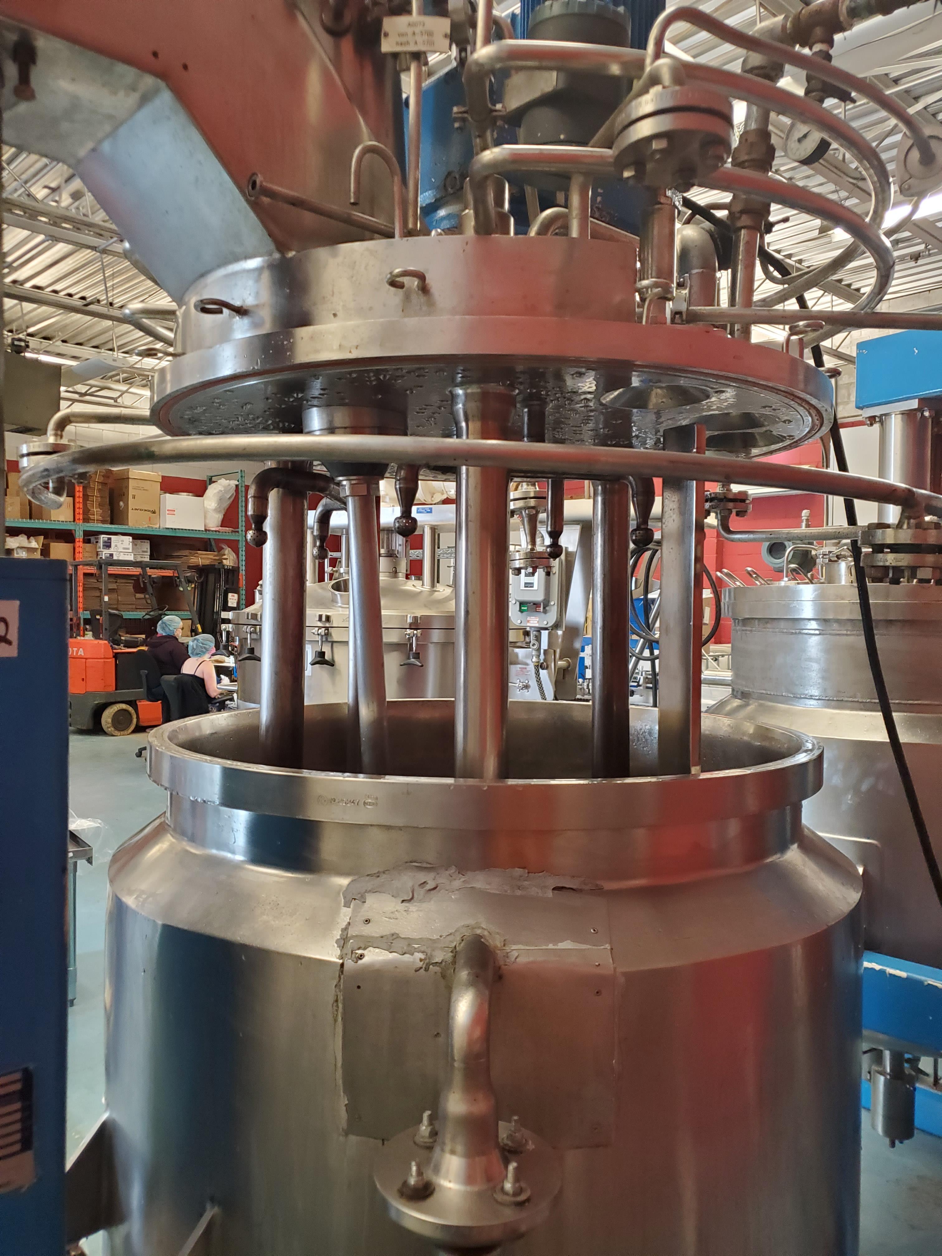 Fryma Vacumix Twin Motion Vacuum Mixer model DT-300 - Image 15 of 19