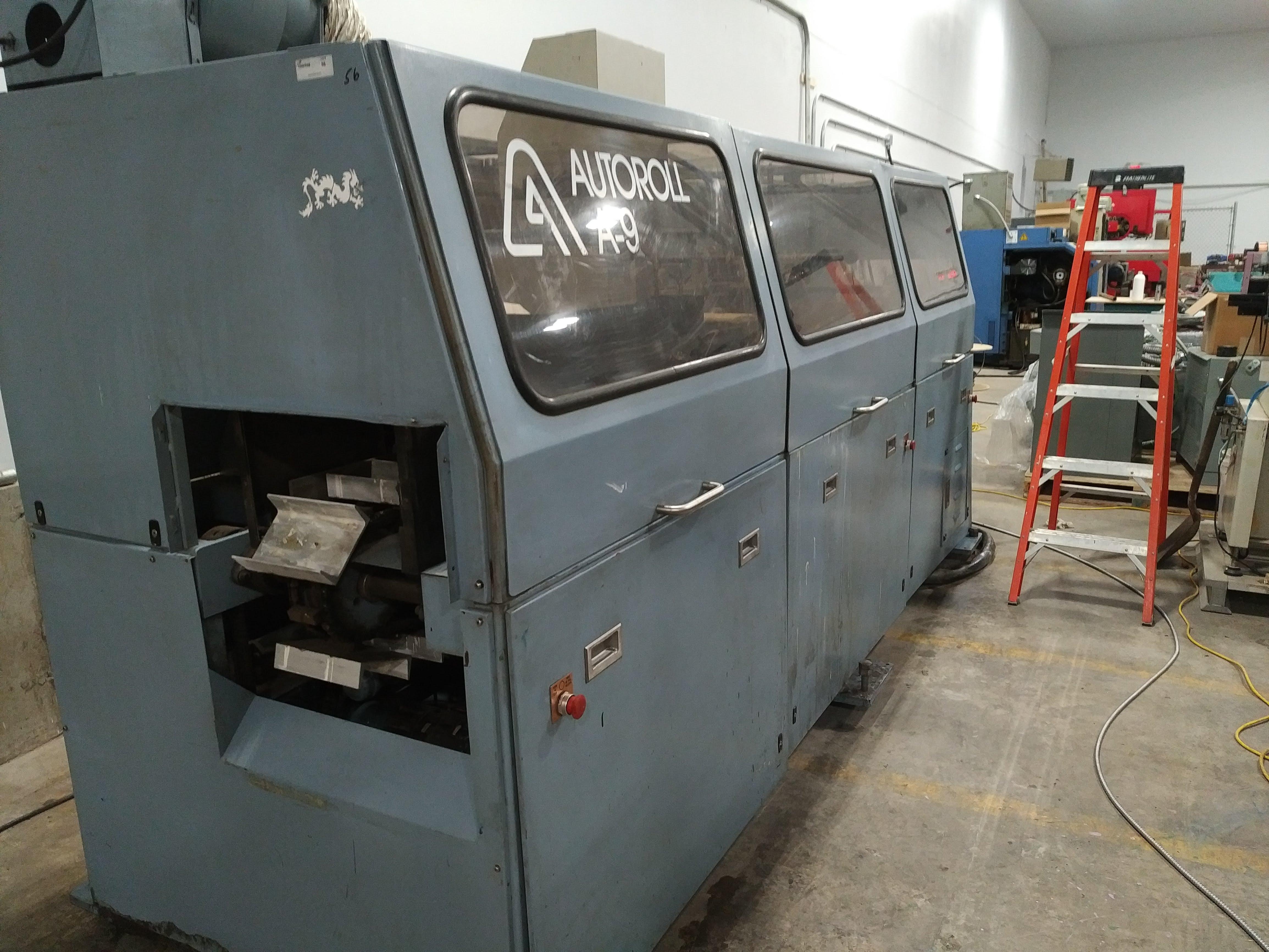 AutoRoll Model A9 /1- Color, Automatic, UV, Bottle Printer - Image 2 of 25