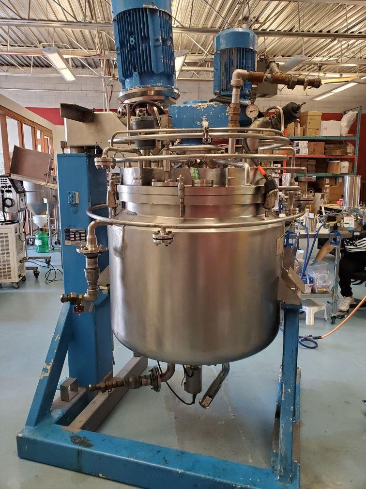 Fryma Vacumix Twin Motion Vacuum Mixer model DT-300 - Image 3 of 19