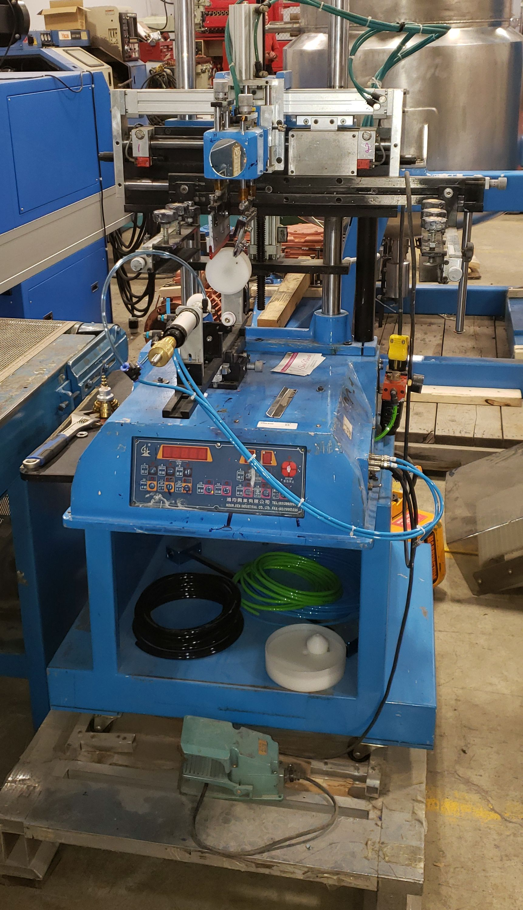 1 Color Bottle Screen Printing Machine