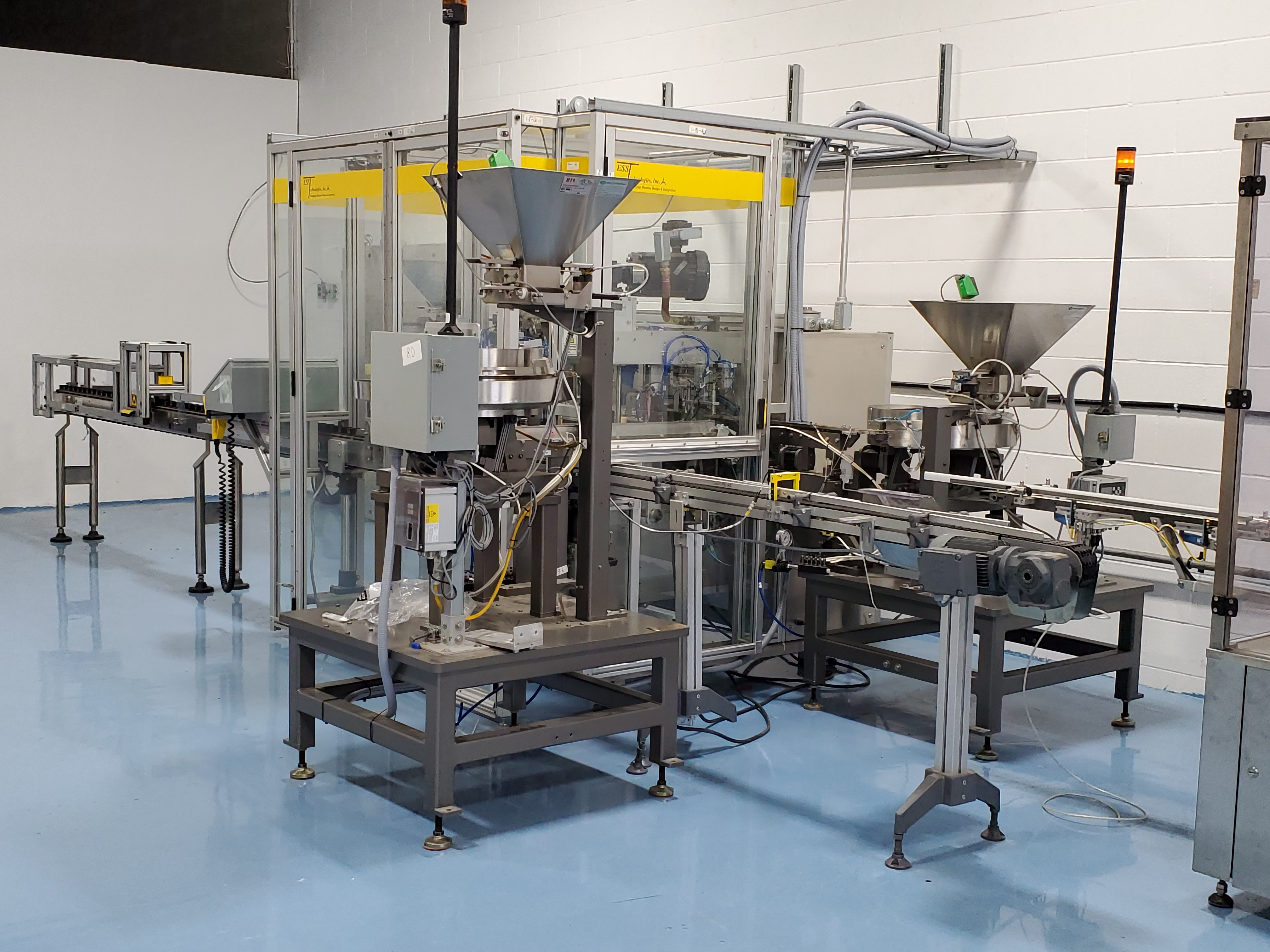 ESS TECHNOLOGIES MB60XP EXPLOSION PROOF MONOBLOCK FILLING & SEALING SYSTEM - Image 6 of 11