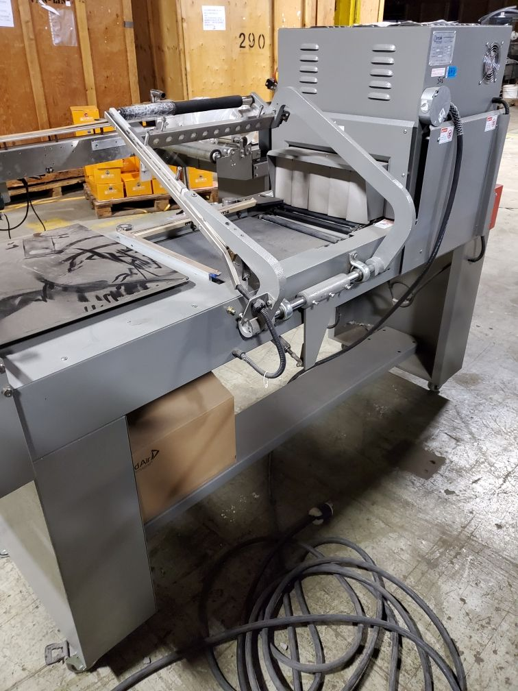 Impak Packaging Systems L-Bar Sealer and Shrink Tunnel - Image 2 of 6