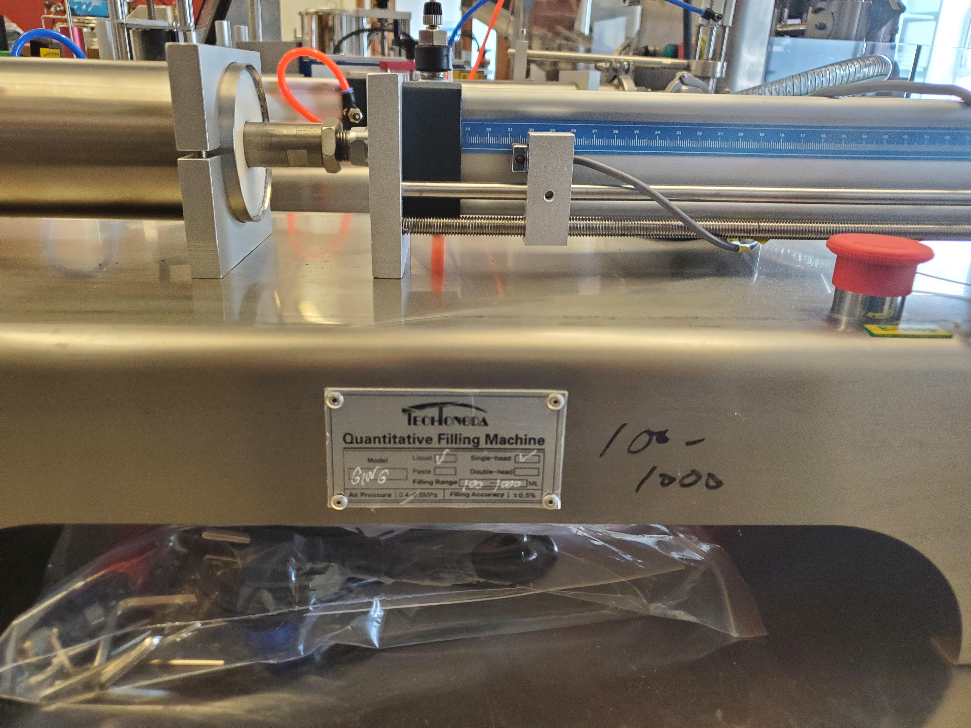 Stainless Steel Horizontal Piston Filler - Table Top Model - Image 3 of 3