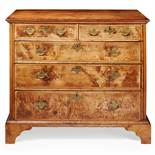 GEORGE I WALNUT CHEST OF DRAWERS EARLY 18TH CENTURY