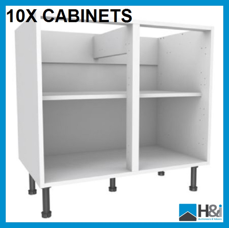One pallet of 10 ten no 18mm with 8mm backs 1000mm for Kitchen cabinets 800mm wide
