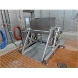 s/s bin dumper c/w hydraulic power pack