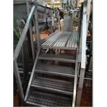 s/s work platform w/ stairs