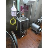 (20) hand wash sinks s/s  foot operated