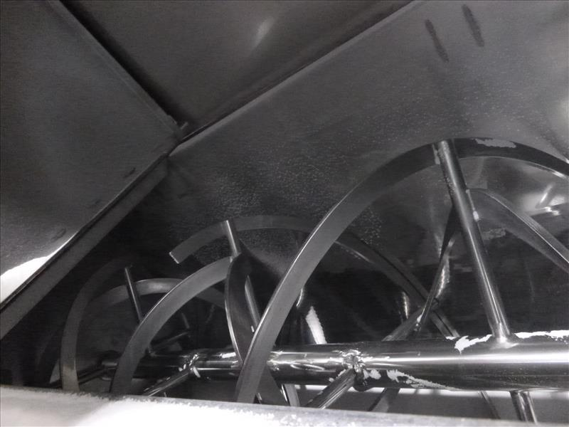 Westwood s/s single shaft ribbon blender mod. W20 ser. no. A7091 - Image 2 of 2
