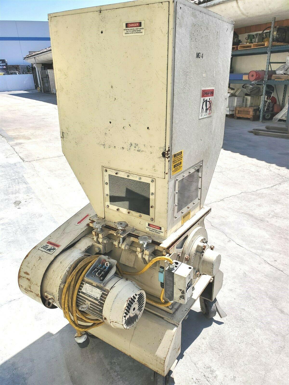 "3 hp NISSUI CORP SKN-22 PORTABLE 15"" PLASTIC GRANULATOR GRINDER - Image 2 of 5"