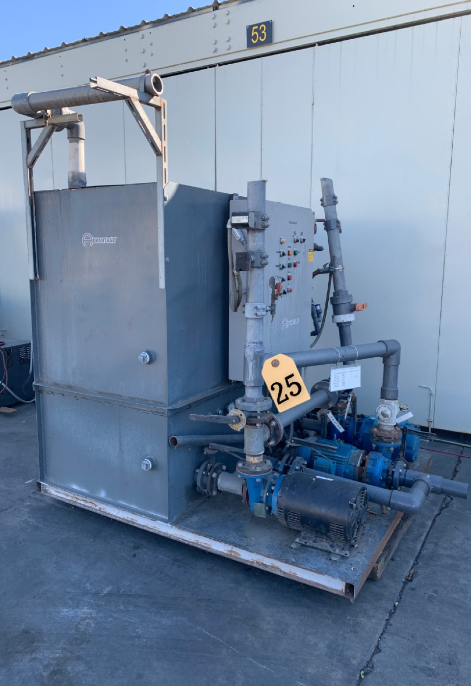 ADVANTAGE COOLING TOWER PUMP TANK SYSTEM
