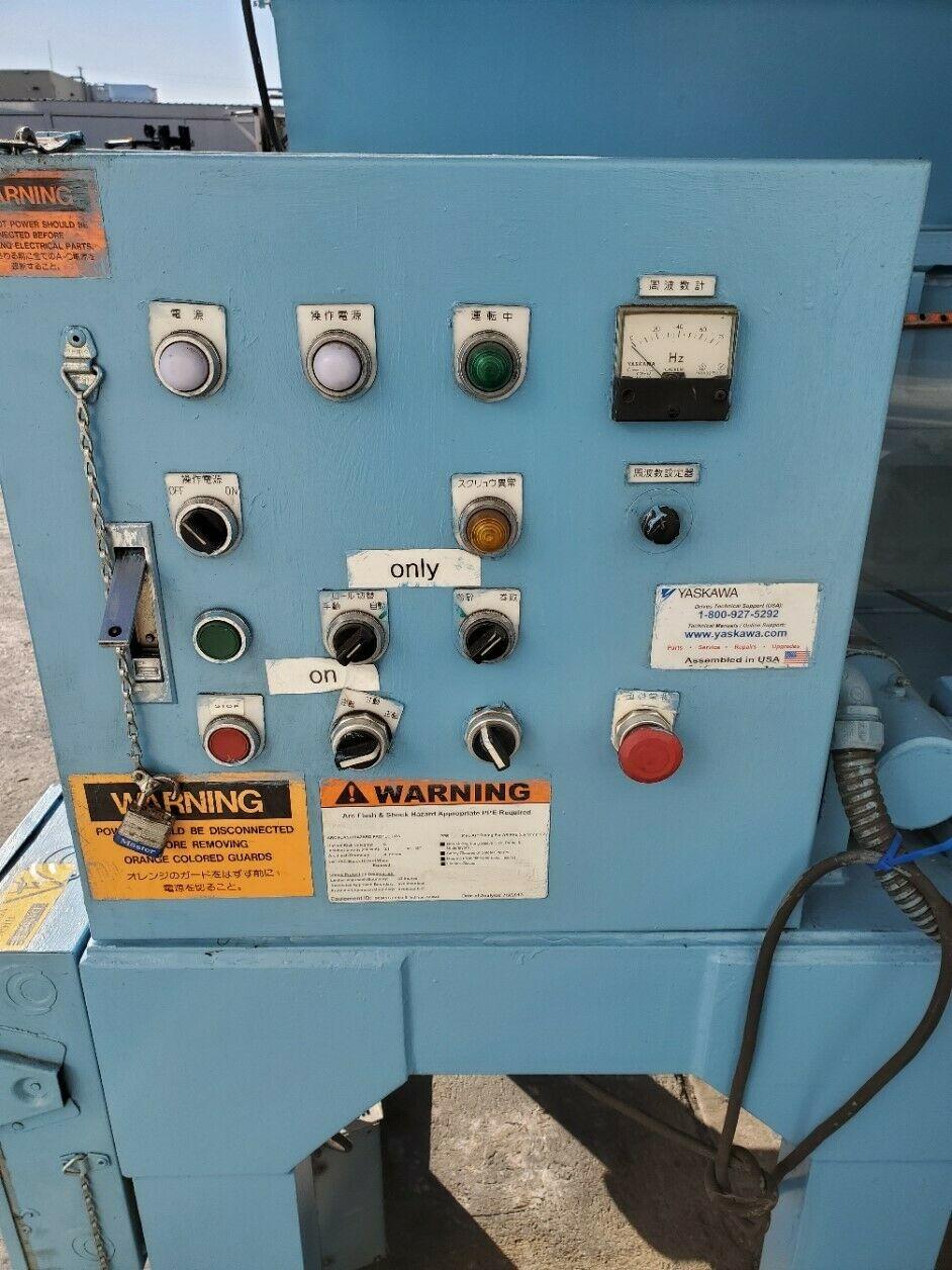 SOMETANI SANGYO SKRT 25-1080 PLASTIC / RUBBER SHREDDER CRUSHER MACHINE - Image 3 of 6