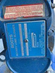 7.5 hp PNEU-CON CONVEYOR w/ DRESSER ROOTS ROTARY LOBE BLOWER - Image 2 of 3