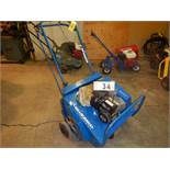 BLUE BIRD EASYSCAPE LAWN AERATOR 26 INCH X 7 ROW W/ B&S 3.5 HP GAS ENGINE