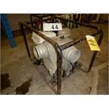 """TSURUMI 4"""" TRASH PUMP W/HONDA 340CC ENGINE"""