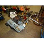 TARGET PAC111 CONCRETE CUTTING SAW MODEL PAC111-13H S/N 147392W/HONDA ENGINE