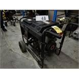 EAGLE POWER TOOLS E65DRE AIR COOLED POWER GENERATOR W/DIESEL ENGINE ,WHEEL KIT, ELECTRIC START
