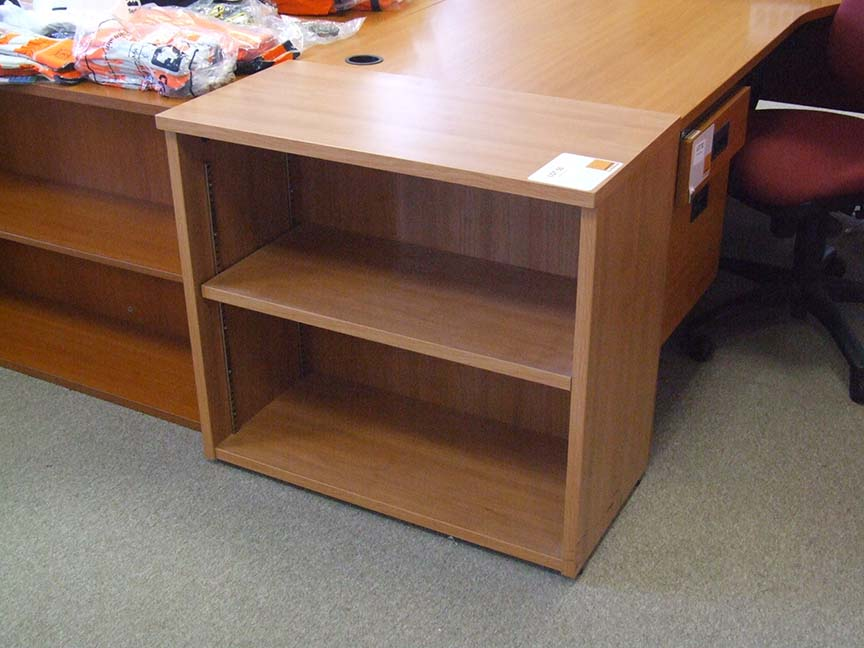 Lot 55 - 2 low Bookcases each 800 wide