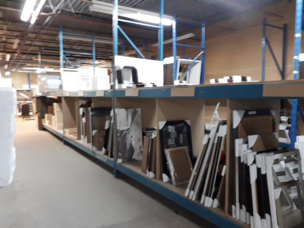 SECTIONS OF INDUSTRIAL RACKING, 42'' x 125'' X 144'' H (CONTENTS NOT INCLUDED) - Image 5 of 7