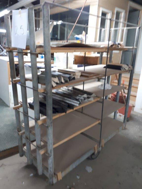 STEEL CARTS (CONTENTS NOT INCLUDED) - Image 2 of 2