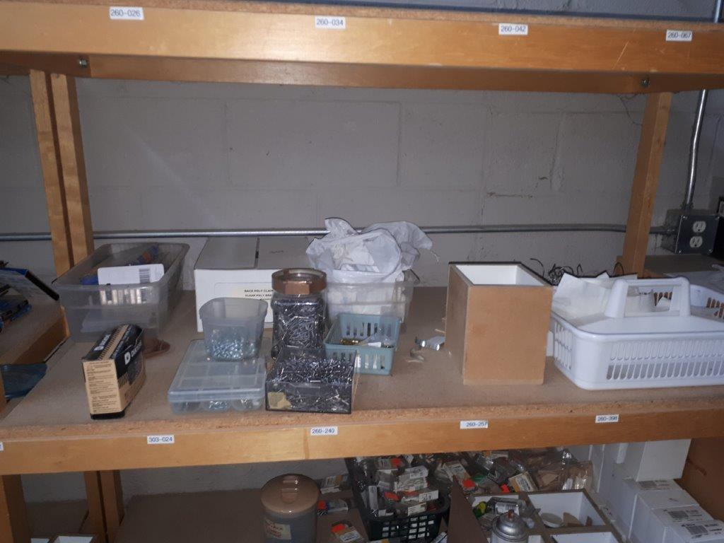 LOT: ASST. HARDWARE & PRODUCTS - Image 5 of 8