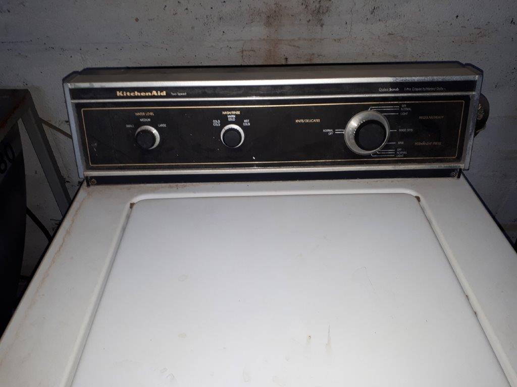 """""""KITCHEN AID"""" WASHER - Image 3 of 3"""