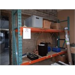 SECTION OF INDUSTRIAL RACKING, 24'' x 98'' x 78'' H (CONTENTS NOT INCLUDED)