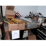 LOT: WORK TABLE & ASST. ACCESS.