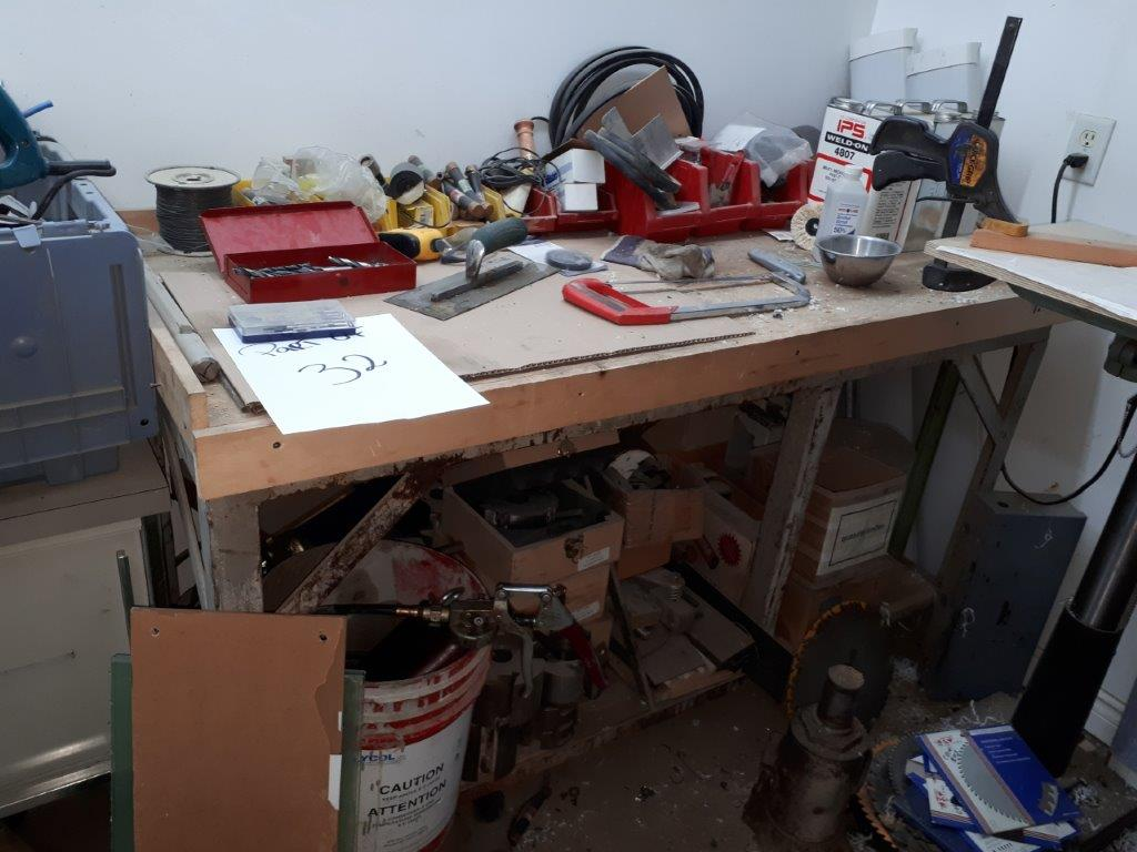 LOT: WORK TABLE & ASST. ACCESS. - Image 5 of 5